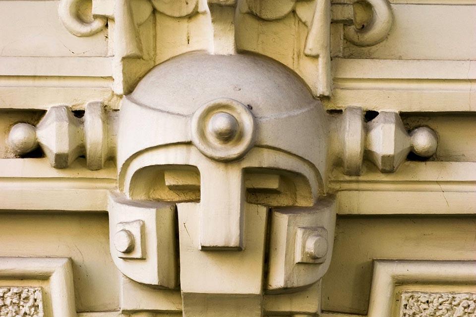Le quartier Art nouveau de Riga , Lettonie