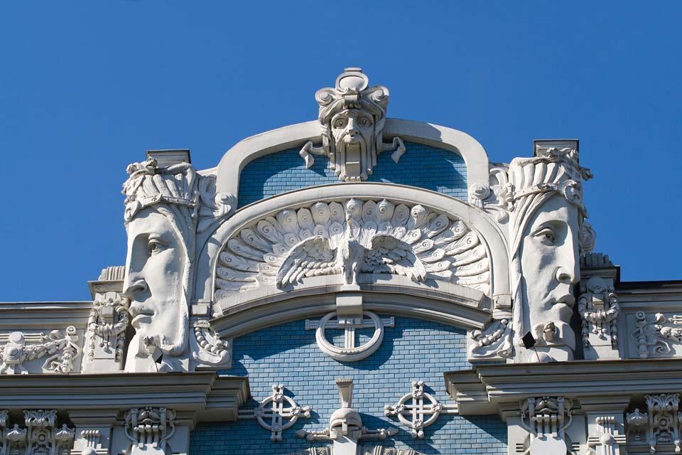 Le quartier Art nouveau de Riga , Les chansons folkloriques , Lettonie