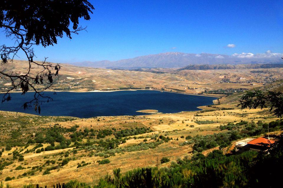 Les fleuves et les lacs, Les paysages, Liban
