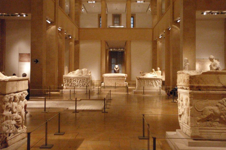 Le musée national de Beyrouth , Le site de Baalbeck , Liban