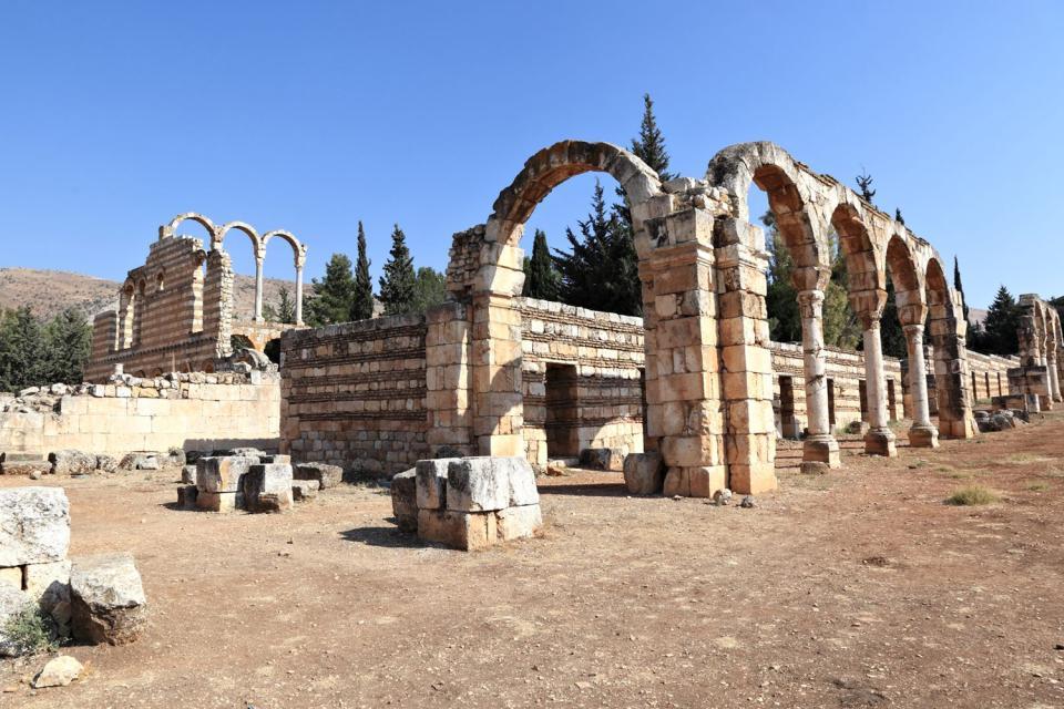 Il sito di Anjaar , Libano