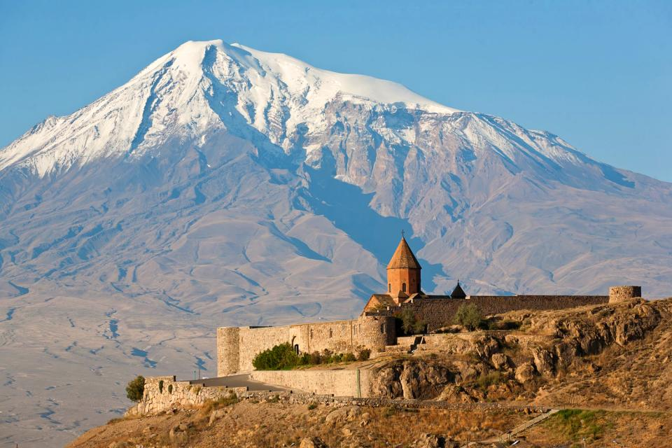 The mountains , Armenia