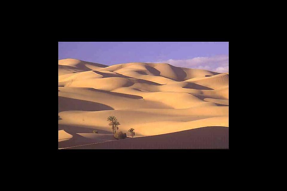Il Sahara , Il deserto del Sahara, Libia , Libia