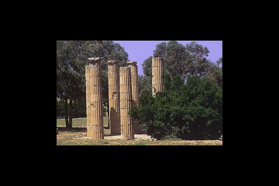 Germa's archeological and ethnographic museum , The Archaeological Museum of Germa, Libya , Libya