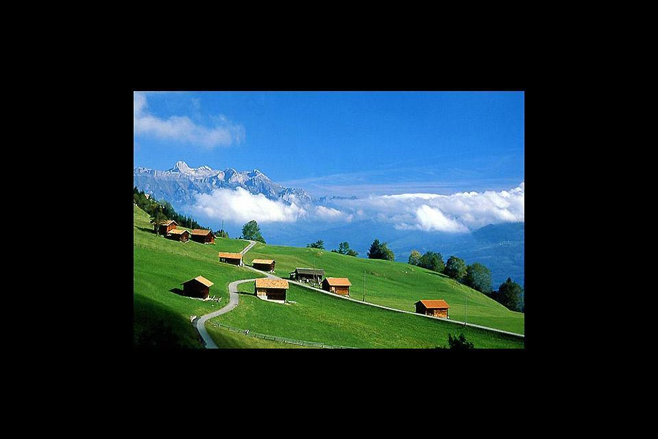 Wanderweg , Der Fürstensteig in Liechtenstein , Liechtenstein