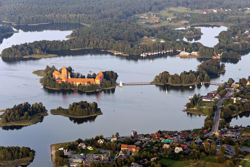 The Trakai Castle Lithuania