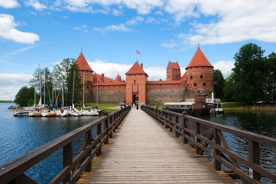 The Trakai historical Park , An excursion to Trakai , Lithuania