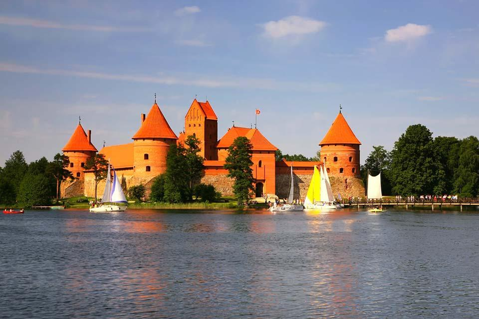 The Trakai historical Park , The Trakai Historical National Park , Lithuania
