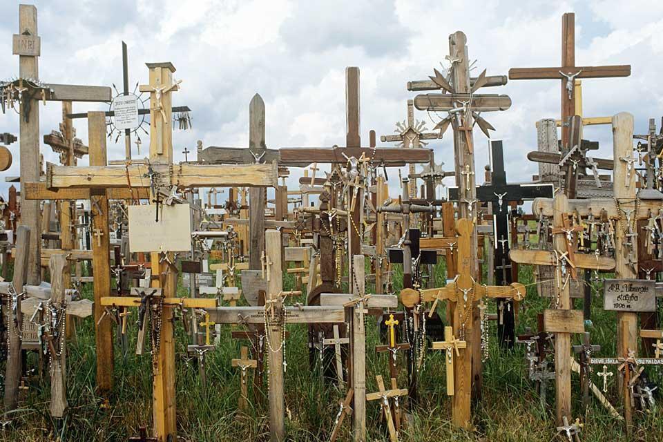 Die Kreuze , Der Berg der Kreuze, Siauliai, Litauen , Litauen