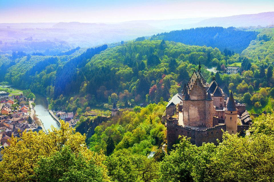 Die Ardennen , Die Ardennen, Luxemburg , Luxemburg