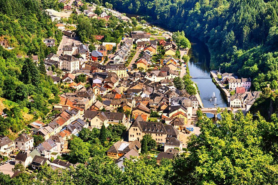 Die Ardennen , Luxemburg