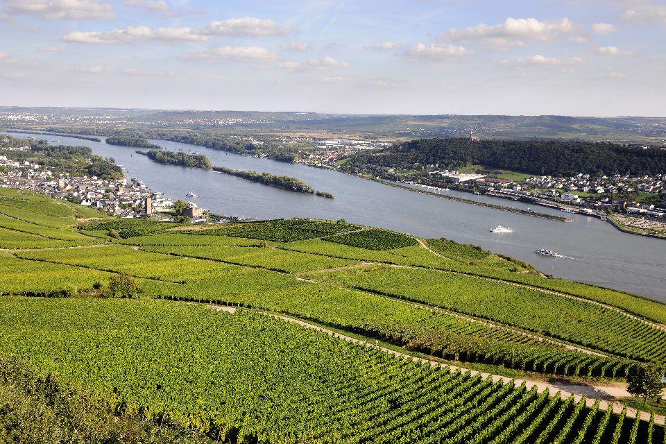 Die Moselle , Luxemburg