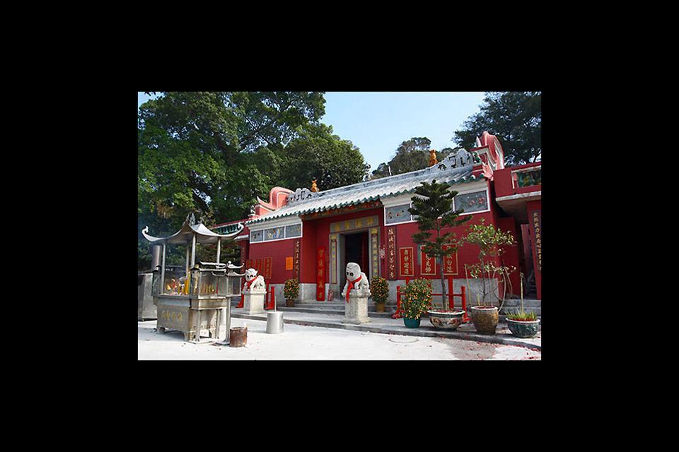 I templi , L'ingresso di A-Ma , Macao