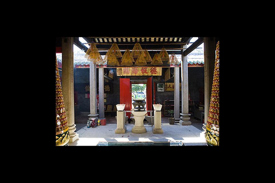 I templi , Il tempio di Tin Hau , Macao