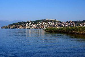 Le lac d'Ohrid , Ohrid, le lac le plus ancien , Macédoine