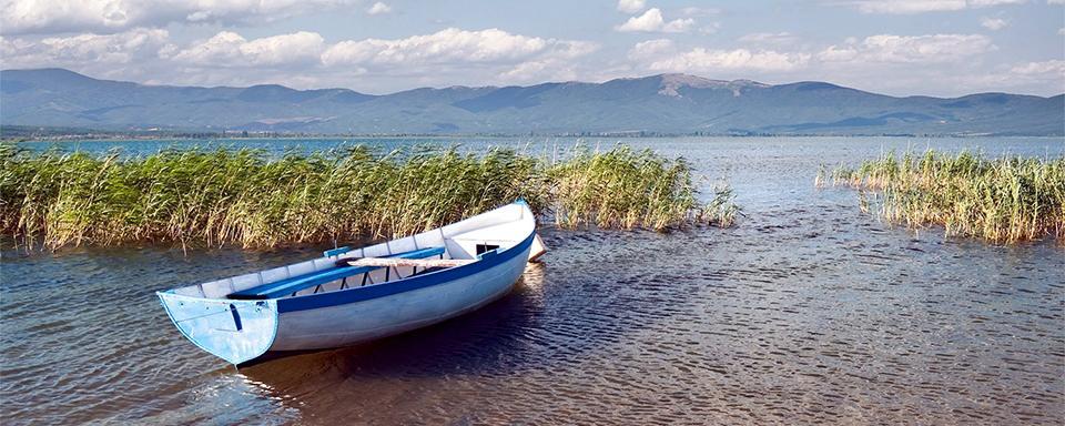 La lac de Prespa