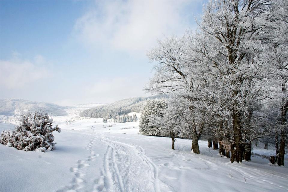 Las estaciones de deportes de invierno , Macedonia