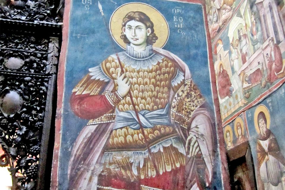 Los iconos , Macedonia
