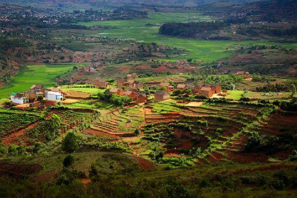 Die Hochebenen , Madagaskar