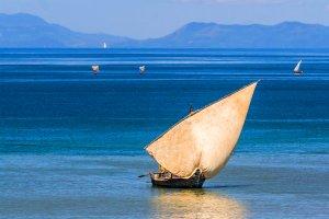 L'île de Nosy Be , Madagascar