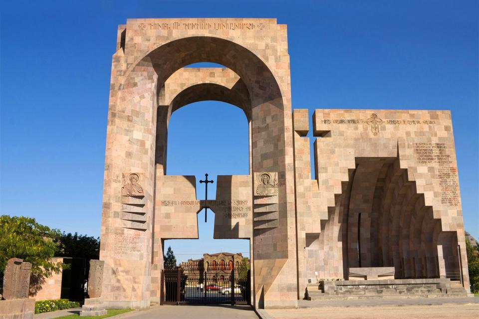 L'architecture , Monastère arménien typique à plan centré , Arménie