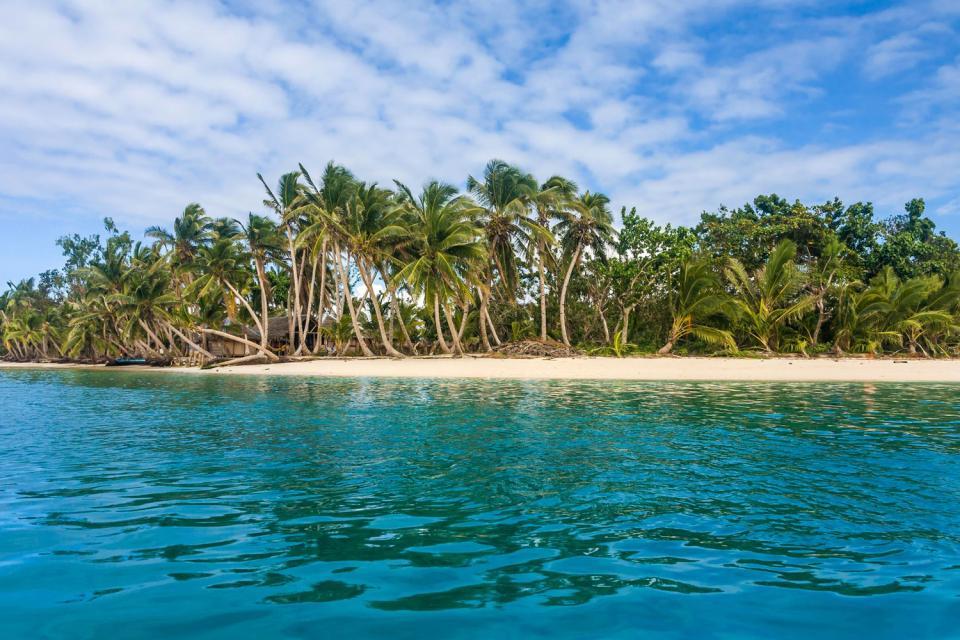 La isla Sainte Marie , Madagascar