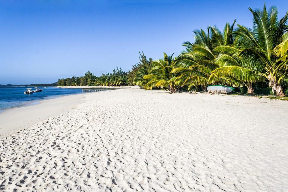 La isla Sainte Marie , La isla de Santa María , Madagascar