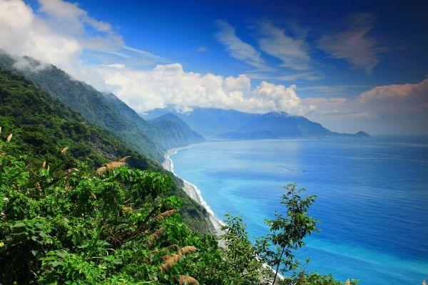 Les côtes, Taïwan Asie