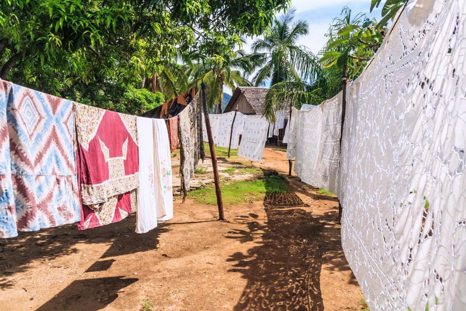 Los bordados , El bordado , Madagascar