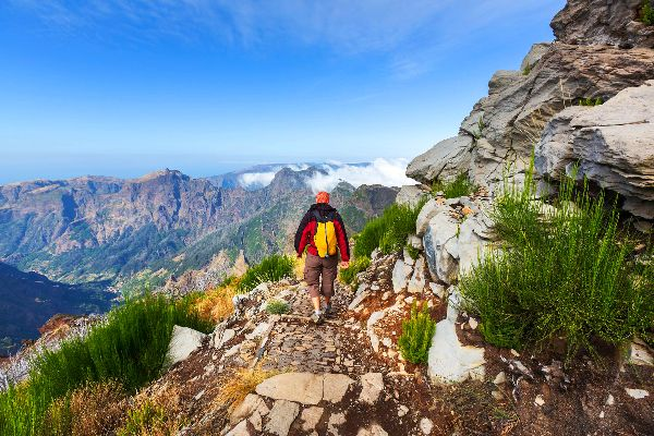 Pico Ruivo , Sulla vetta di Madeira , Portogallo