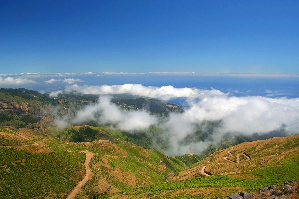 Paul da Serra Plateau , Mist over the plateau , Portugal