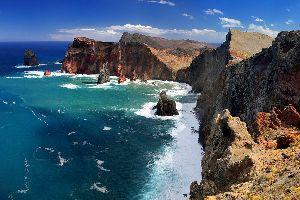 Ponta de Sao Lourenço , Im Norden von Madeira , Portugal
