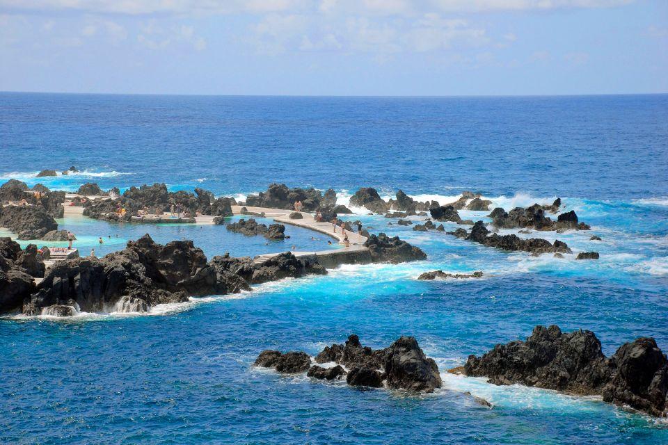 Les côtes, porto, moniz, madère, portugal, piscine, atlantique, île, archipel
