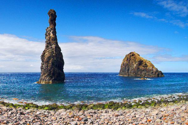 Il litorale settentrionale , Pendii rocciosi , Portogallo