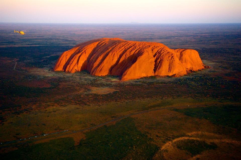 Das Rote Zentrum, Ayers Rock, das Nordterritorium , Rotes Zentrum , Australien