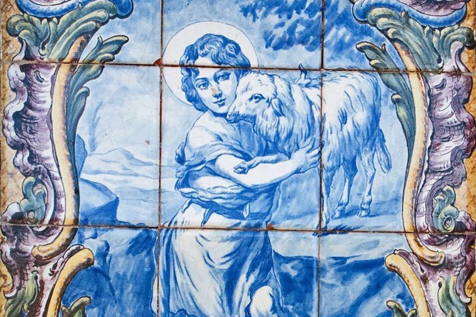 Les azulejos , Portugal