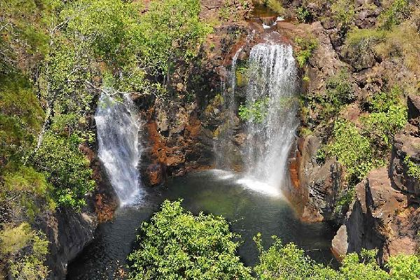 The Far North , Florence Falls, Litchfield National Park, NT , Australia