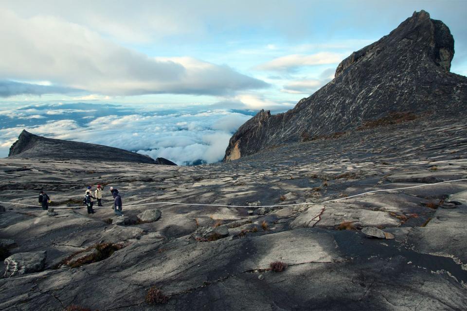 Le Parc national du Kinabalu (Bornéo) , Le Mont Kinabalu , Malaisie