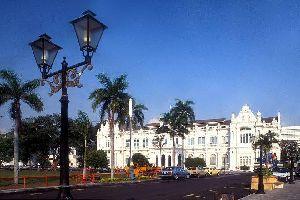 La isla de Penang , Georgetown, capital de Penang , Malasia