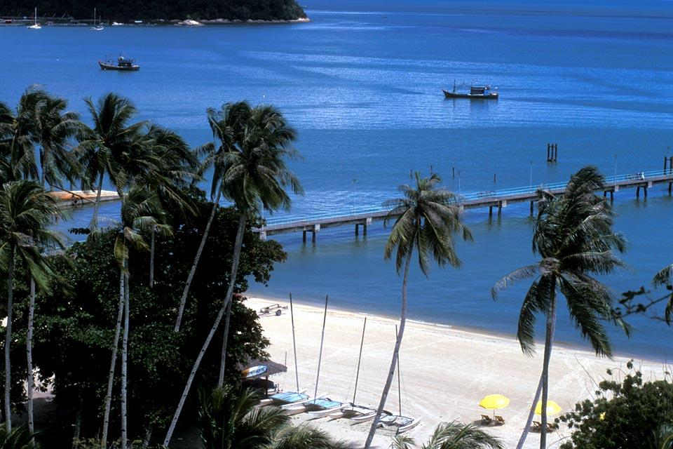 La isla de Penang , Malasia