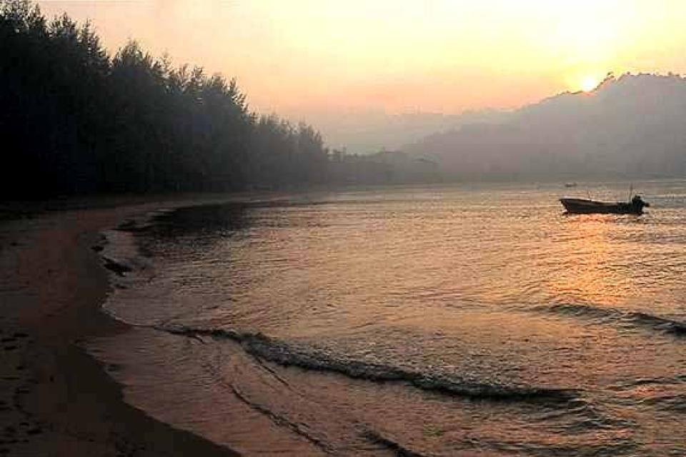 Les plages de la péninsule , Malaisie