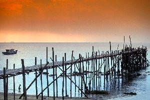 La isla de Tioman , Malasia
