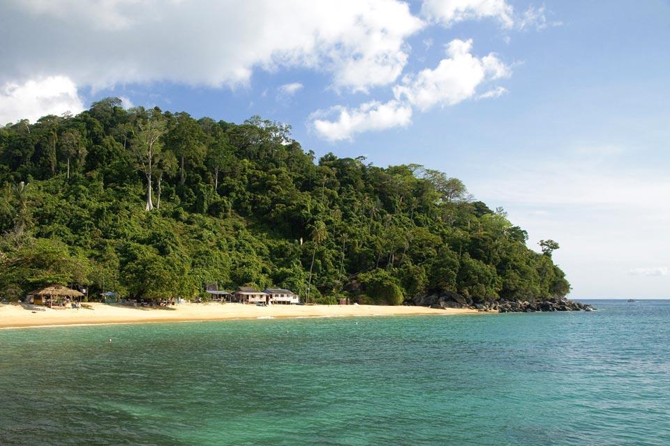 L'île de Tioman , La situation de Tioman , Malaisie