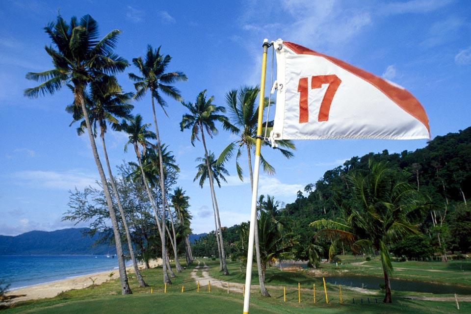 L'île de Tioman , La taille de l'île , Malaisie