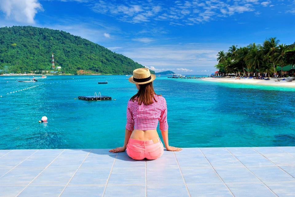 Las islas Perhentian , Malasia