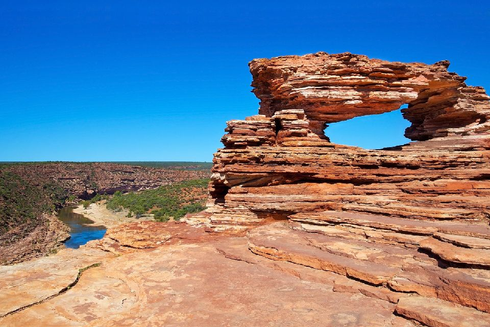 L'Australie occidentale , Le parc national de Kalbarri , Australie