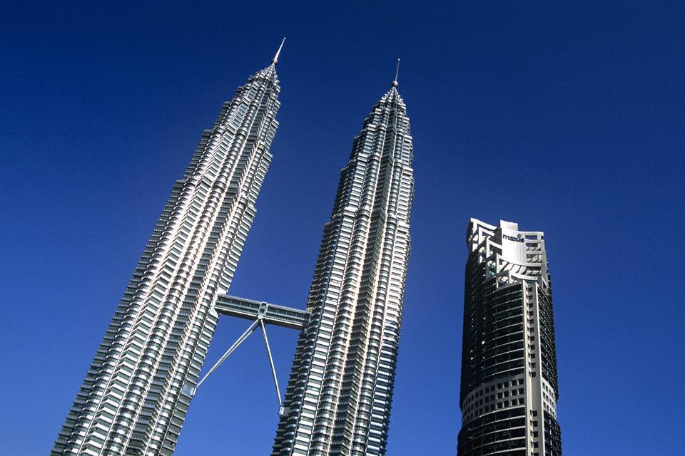 Les tours Petronas , Les tours jumelles , Malaisie
