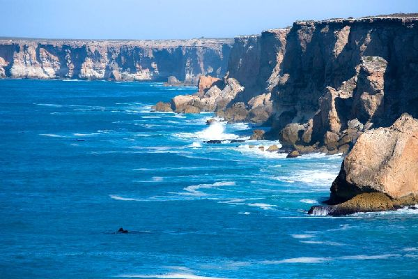 Southern Australia , The Bunda Cliffs, South Australia , Australia