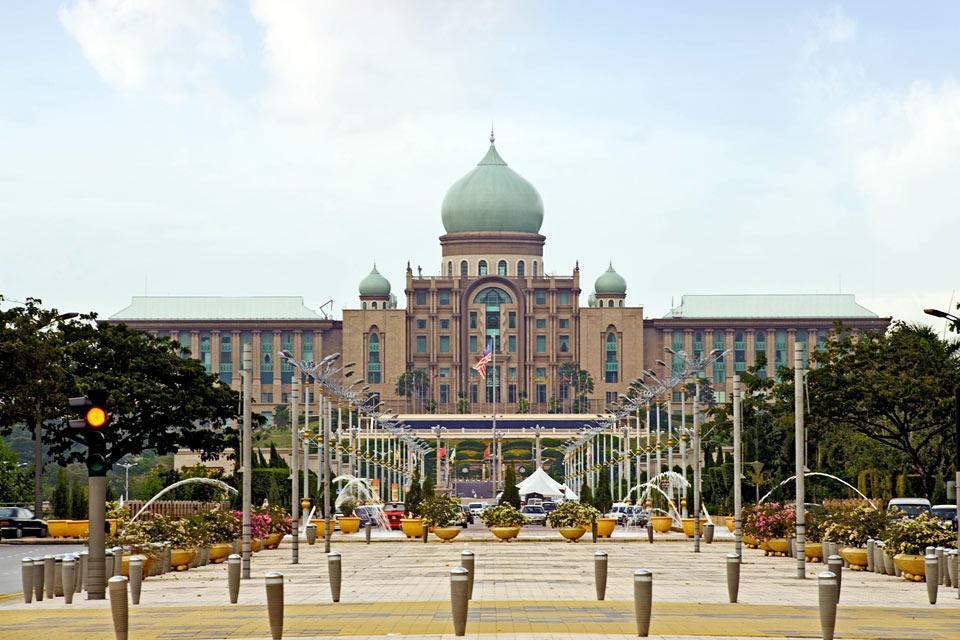 Perdana Putra , L'architecture du Perdana Putra , Malaisie