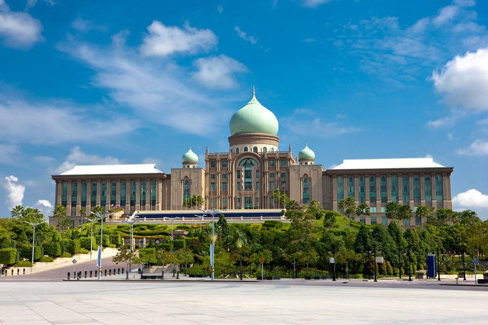 Perdana Putra , L'inauguration du Perdana Putra , Malaisie